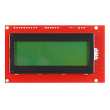 SparkFun Serial Enabled 20x4 Character LCD (Black on Green 5V)