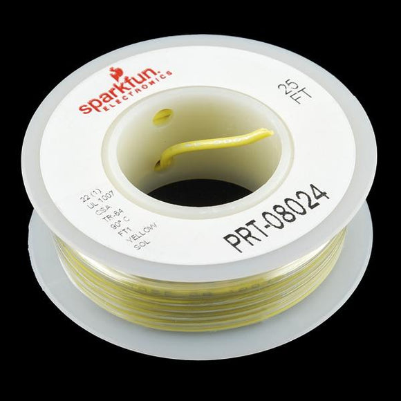 SparkFun Hook-up Wire (Yellow)