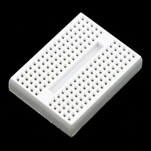 Mini-Breadboard with Self-Adhesive (170 Tie Point White)