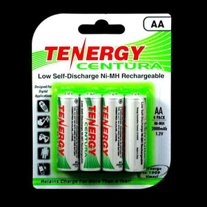 TENERGY Centura Low Self-discharge Ni-MH Rechargeable Battery (4x AA 1.2V 2000mAh)