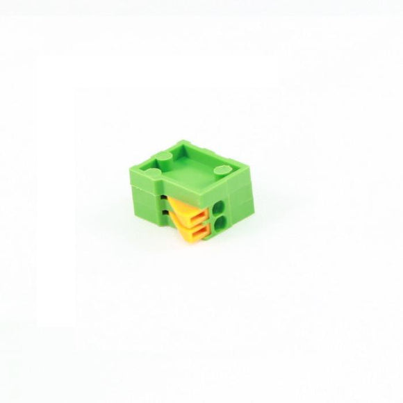 Screwless Terminal Block: 2-Pin, 0.1