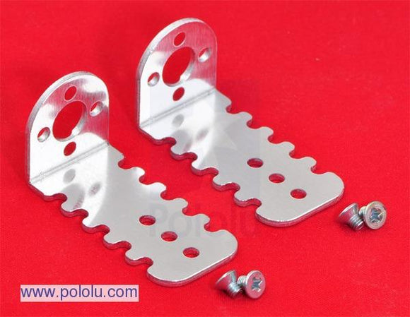 Pololu 20D mm Metal Gearmotor Bracket Pair