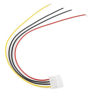 4 Pin Molex Connector with Lead
