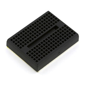 Mini-Breadboard with Self-Adhesive (170 Tie Point Black)