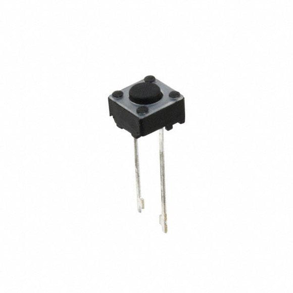 Momentary Push Button/Tactile Switch (Mini 6mm Square 2 Legs)
