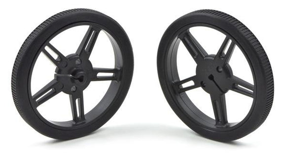 Pololu Wheel 60x8mm Pair (Black)