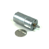 Pololu 9.7:1 Metal Gearmotor 25Dx48L mm HP