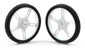 Pololu Wheel 80x10mm Pair (White)