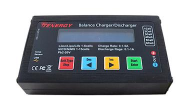 Tenergy Vantage B6s Balancing Charger and Meter for NiMH/NiCD/Li-PO/Li-Fe/SLA