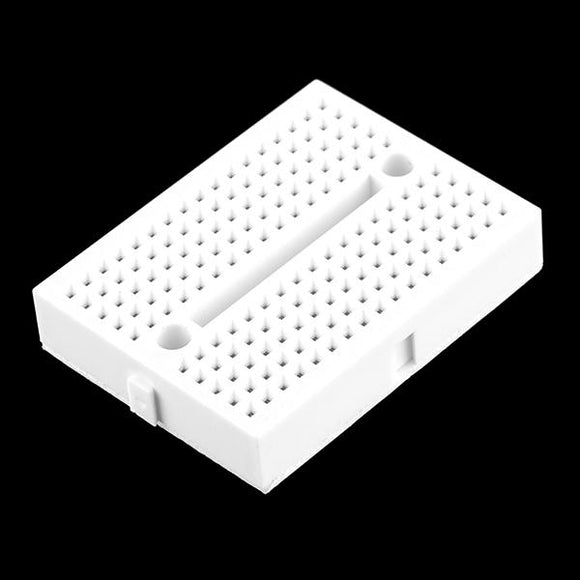 Mini-Breadboard Modular with Self-Adhesive (170 Tie Point White)