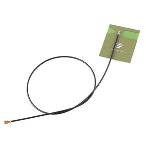 2.4GHz PCB Antenna with Adhesive (U.FL connector)