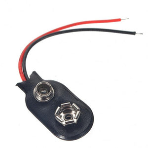 9V Connector with lead