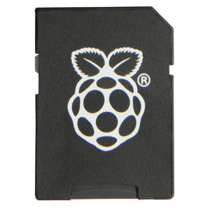 Pre-programmed Raspberry Pi SD Card (8GB)