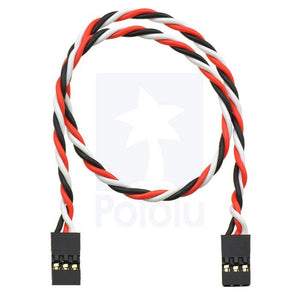 "Servo Extension Jumper Cable 12"" (F/F)"