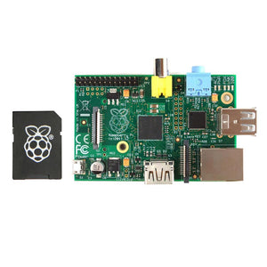 Raspberry Pi Model B 512 MB with NOOBS Pre-Installed 8GB SDCard