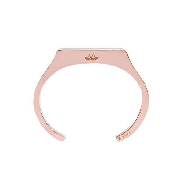 Bracelet slim plaqué Or Rose:MYKI ALPI