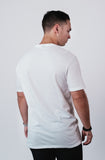 Men's White Soft Crew Neck T Shirt