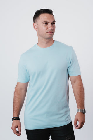 Men's Winter Frost Soft Crew Neck T Shirt