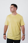 Men's Mellow Yellow Soft Crew Neck T Shirt