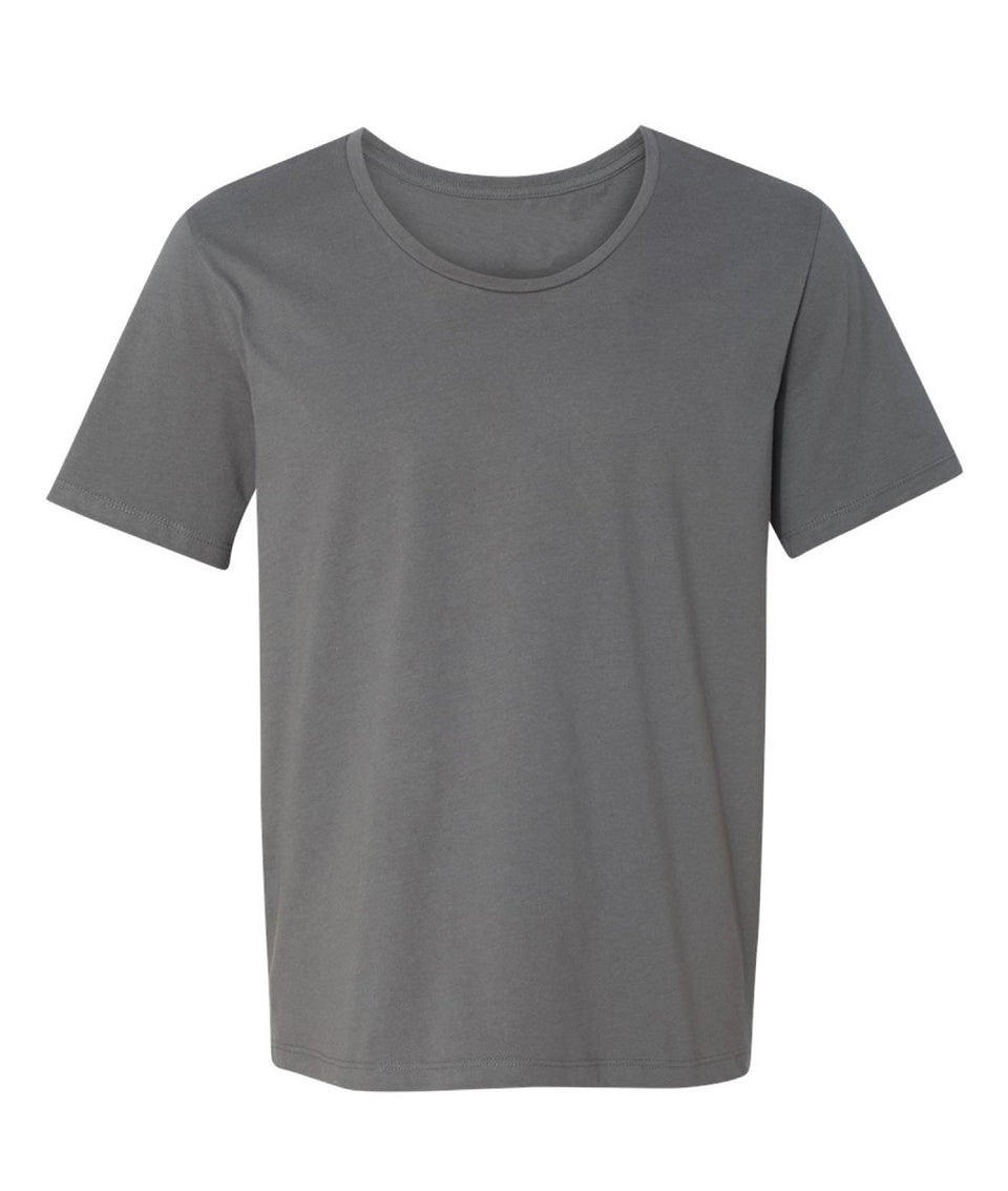 Wide Neck Soft-Style T-Shirt