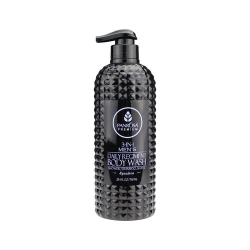3-in-1 Men's Daily Regiment Body Wash - Squadron