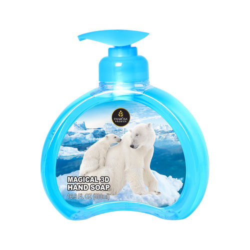 Magical 3D Hand Soap - Polar Bears
