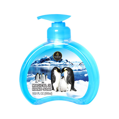 Magical 3D Hand Soap - Penguins