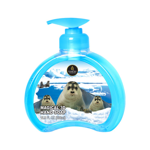 Magical 3D Hand Soap - Arctic Seals