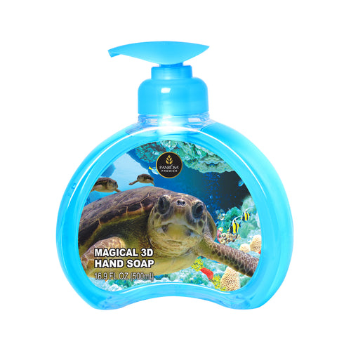 Magical 3D Hand Soap - Sea Turtles