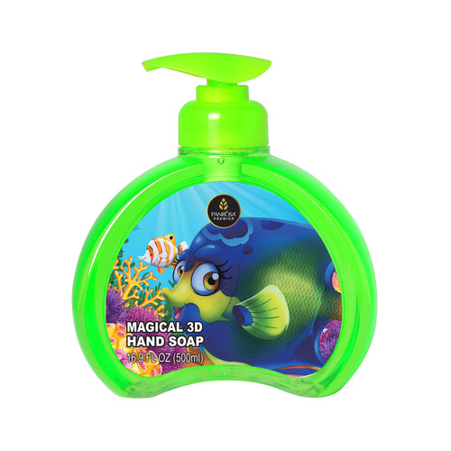 Magical 3D Hand Soap - Tropical Blue Fish