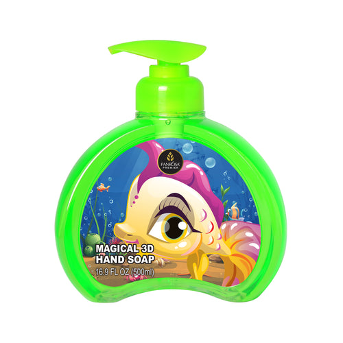 Magical 3D Hand Soap - Tropical Pink Fish
