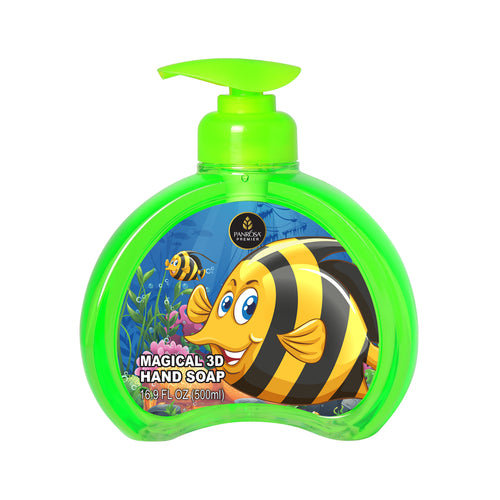 Magical 3D Hand Soap - Tropical Yellow Fish