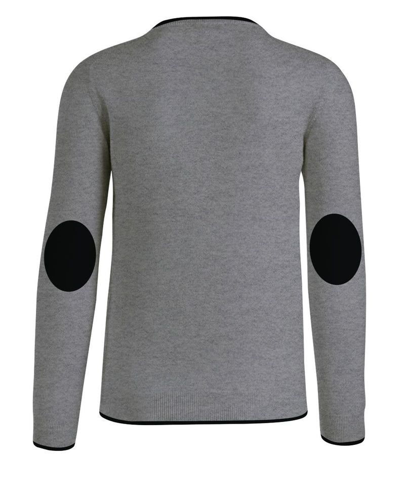 Round Neck Man Cashwool