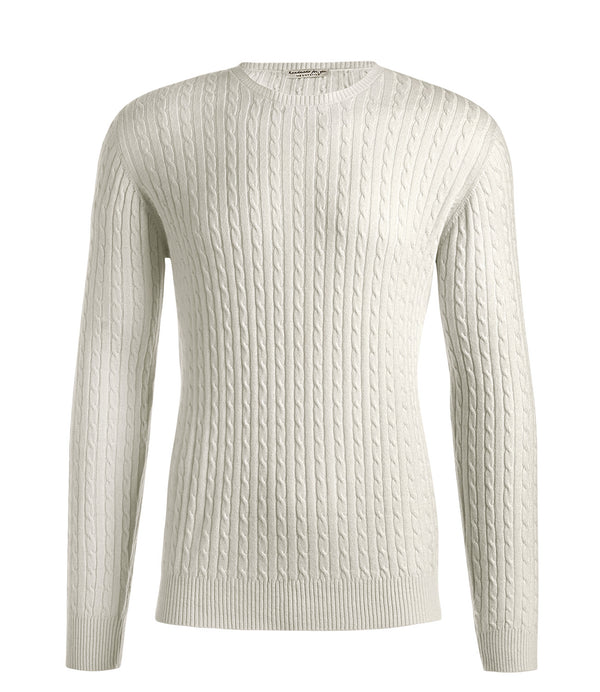 Cable Round Neck