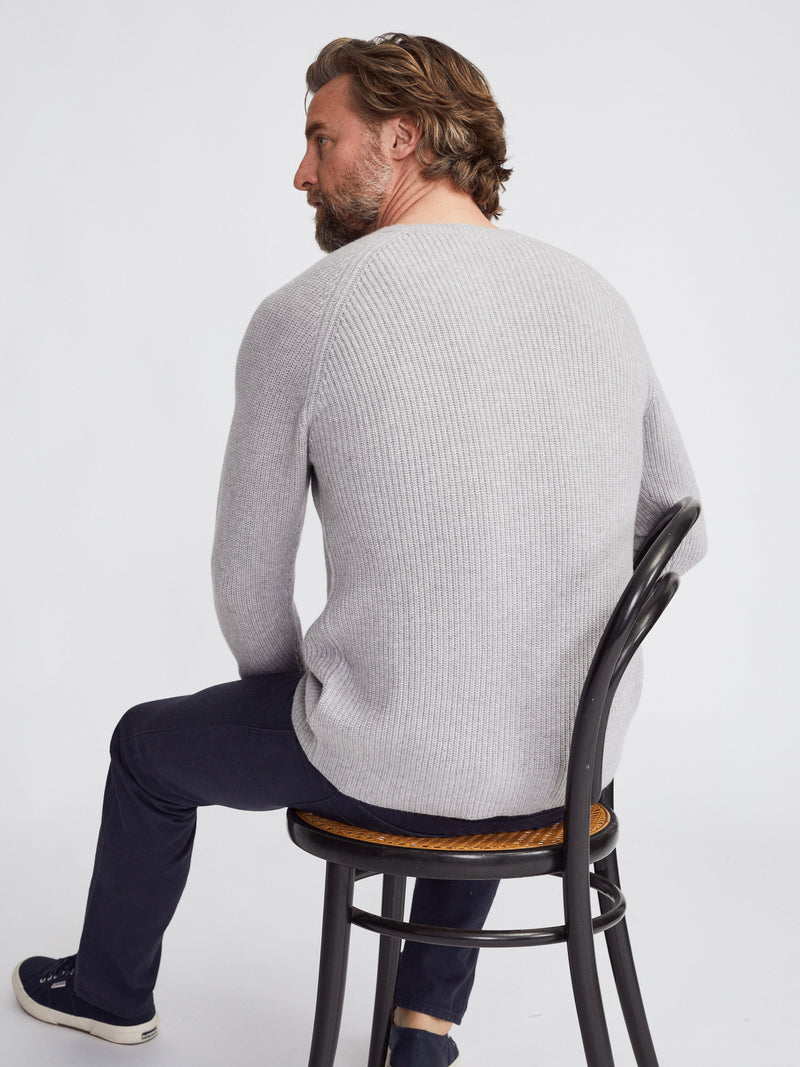 Round Neck Ribbed