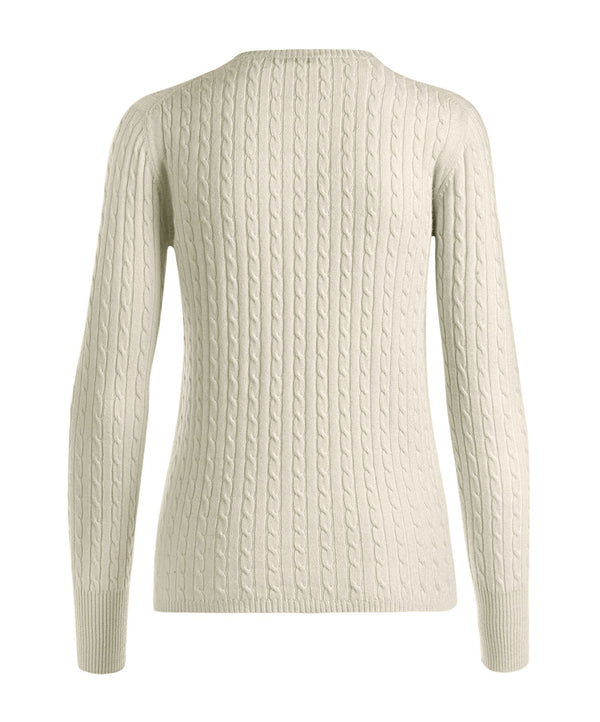 Cable Round Neck Woman