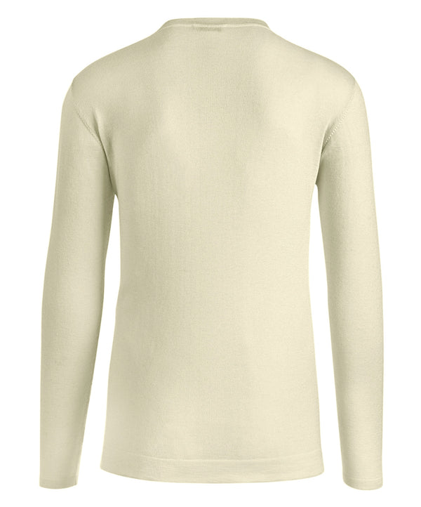 Round Neck V-Placket Cashsilk