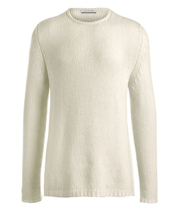Loose Knit Round Neck