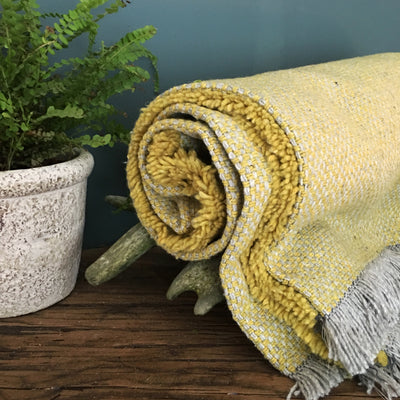 Pear Recycled Throw