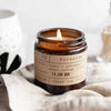 Fireside Candle Jar - Cedar / Patchouli / Sweet Orange / Clove
