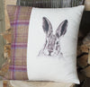 Winter Tweed Mr Hare Cushion