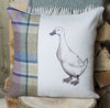 Spring Tweed Duck Cushion
