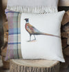 Spring Tweed ' Pheasant ' Cushion