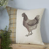 Summer Tweed Chicken Cushion