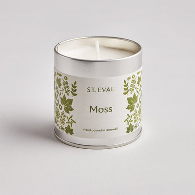 Moss Scented Tin Candle