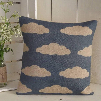 ' Cloud ' Cushion (Midnight Blue)