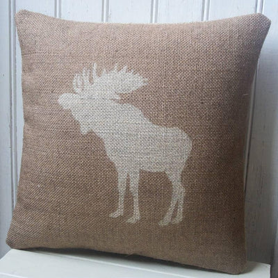 ' Moose ' Cushion (Chestnut)