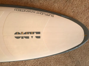 RADIOSTAR  5'6 groveler (formerly the SILENCER)
