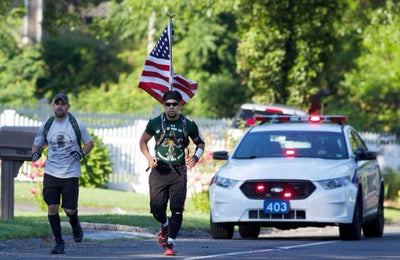 Freddy Rodriguez: Lt. Michael Murphy Inspired 50 Mile Run