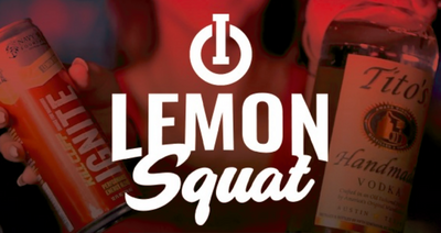 IGNITE Mixology - Lemon Squat